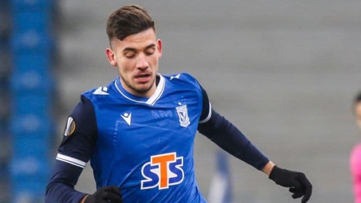 Jakub Moder cost Brighton £9.5m from Lech Poznan
