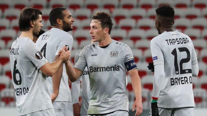 """Europa League: Bayer Leverkusen löst Ticket für die K.o.-Runde - """"Hat mal jemand einen Hochzeitsring?"""""""