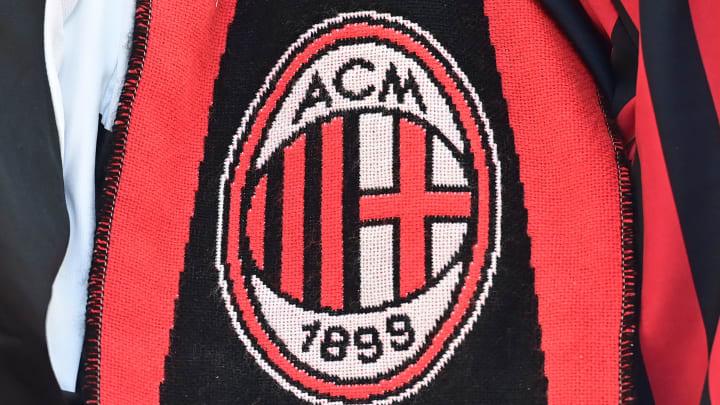 Ilustrasi logo AC Milan