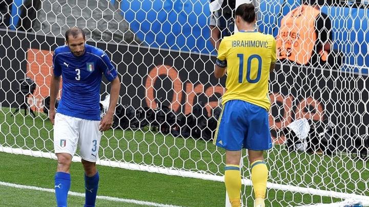 Ibrahimovic und Chiellini schlugen große Schlachten
