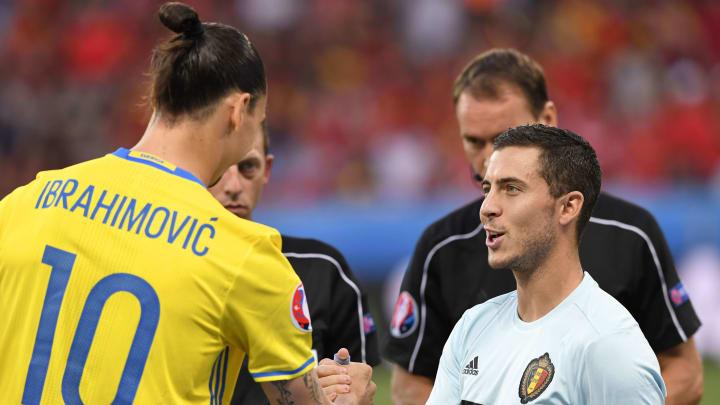 Ibrahimovic y Hazard