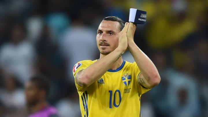 Zlatan Ibrahimovic has been named in the Sweden squad