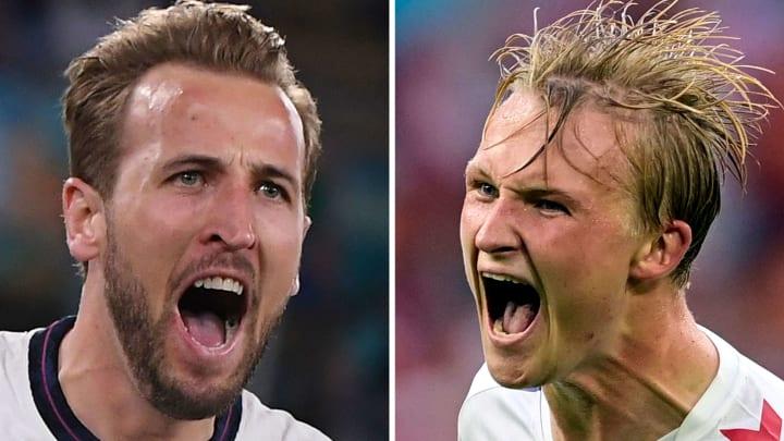 Kane e Dolberg vão em busca de gols para realizar sonho da decisão