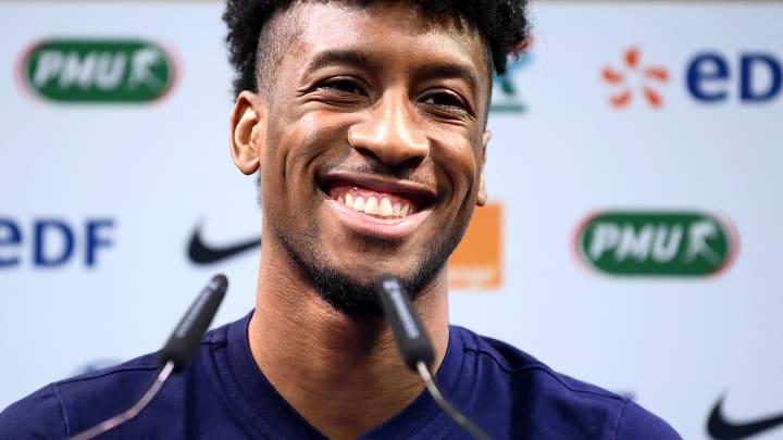 Coman a déclaré que l'équipe de France possédait la meilleure équipe du monde.