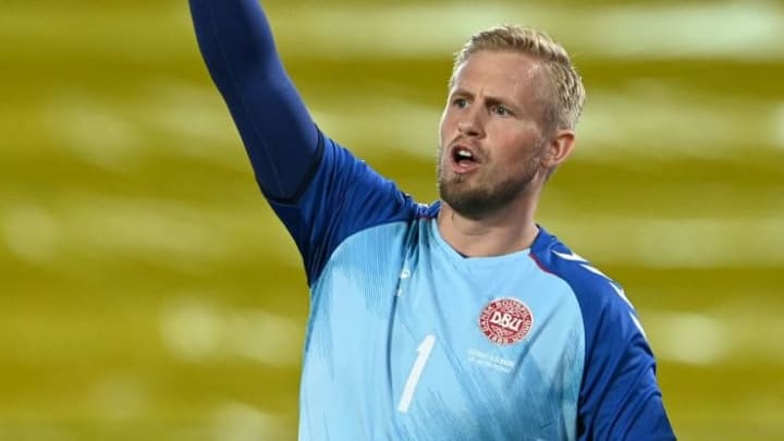 Kasper Schmeichel Euro Dinamarca Leicester