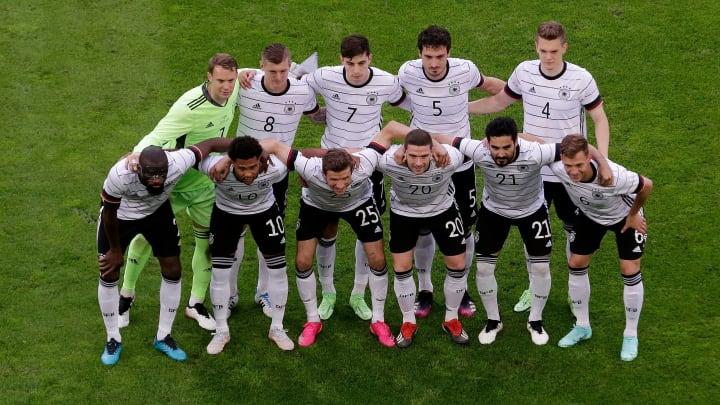 Toma aérea en el momento que formó Alemania.