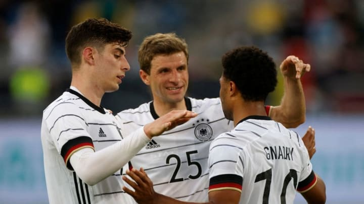 Havertz, Müller, Gnabry