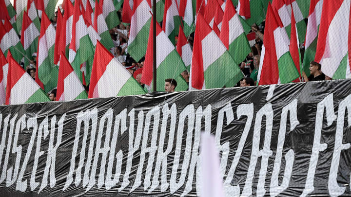 Hungary have been hit with a stadium ban