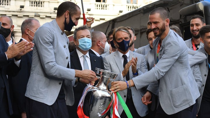Bonucci and Chiellini once argued over Lionel Messi's shirt
