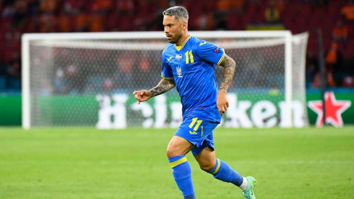 Nascido no Brasil, Marlos hoje defende a Seleção Ucraniana | FBL-EURO-2020-2021-MATCH05-NED-UKR