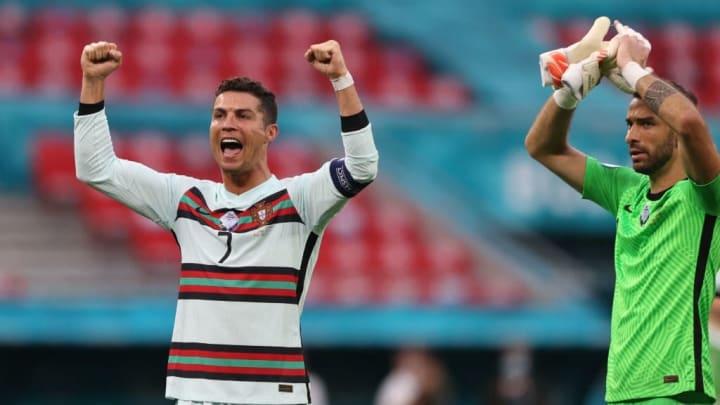 Eurocopa Cristiano Ronaldo Hungria Recorde Lionel Messi