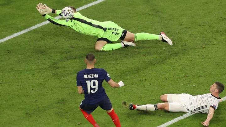 França Alemanha Eurocopa Impedido Karim Benzema Mats Hummels