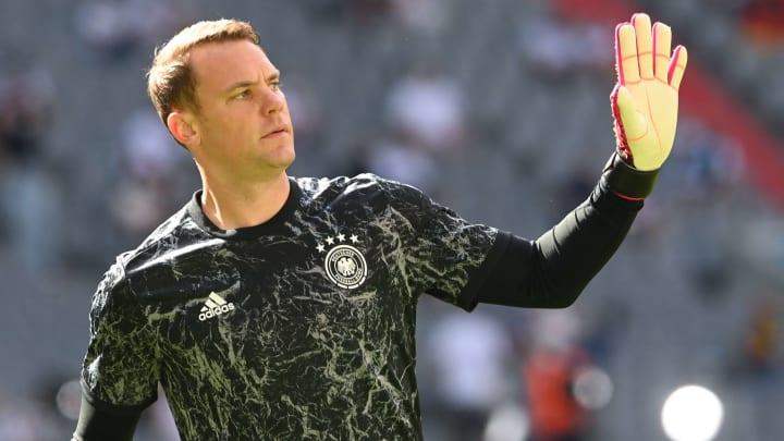 Neuer é um dos destaques da partida | FBL-EURO-2020-2021-MATCH24-POR-GER