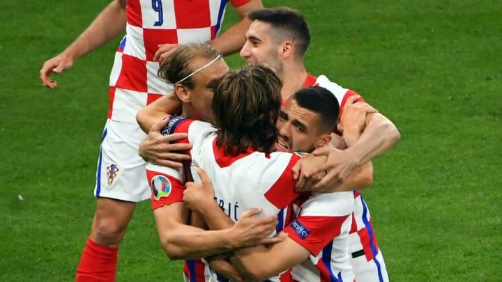 Die Kroaten stehen im Achtelfinale