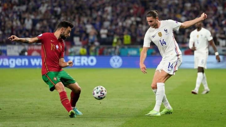 Bruno Fernandes Portugal Eurocopa Manchester United