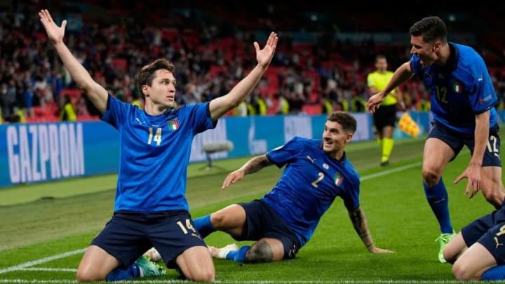 Chiesa Itália Bélgica Eurocopa Quartas de Final