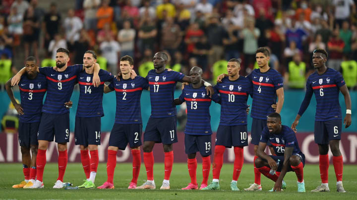 France were defeated on penalties