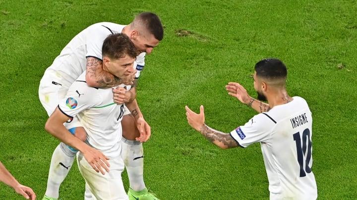 Itália domina a seleção das quartas