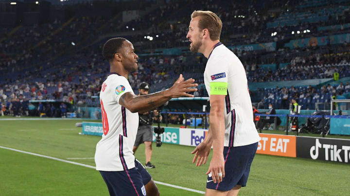 Sterling and Kane combined in Rome