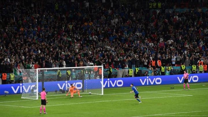 Itália Espanha Eurocopa Wembley Jorginho Pênalti