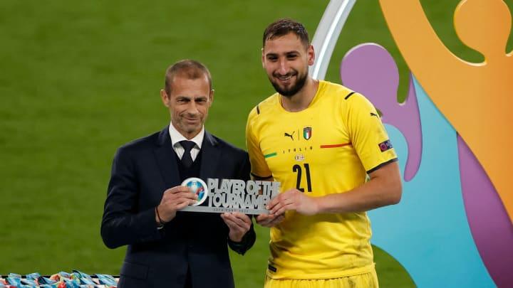 Donnarumma wurde zum besten Spieler der EM gewählt