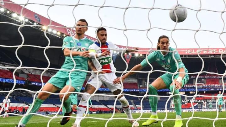 Neymar PSG Angers Goleada Ligue 1
