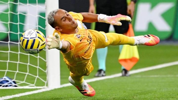Keylor Navas a été décisif lors de la séance de tir au but face à Lyon