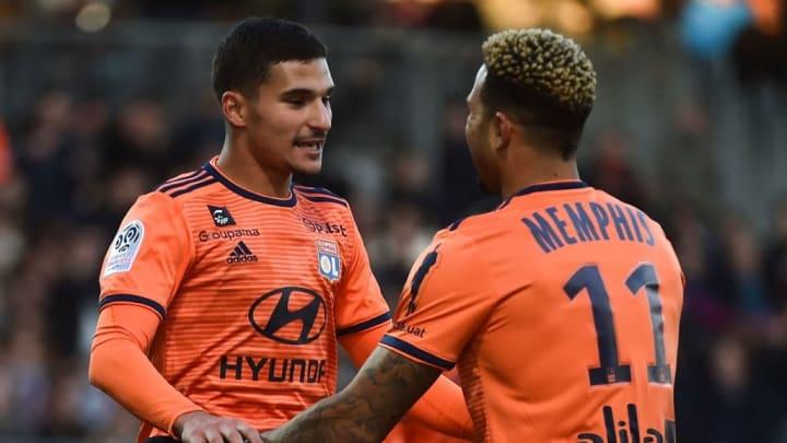 Memphis Depay et Houssem Aouar pourraient être les prochains à quitter Lyon.