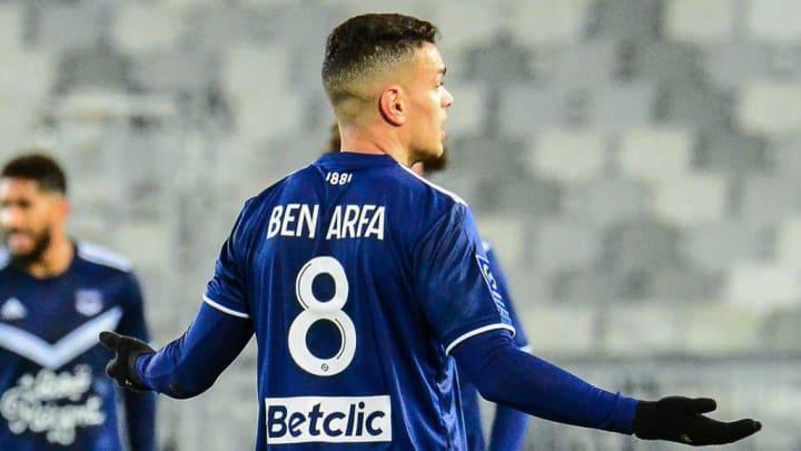 Hatem Ben Arfa avec les Girondins.