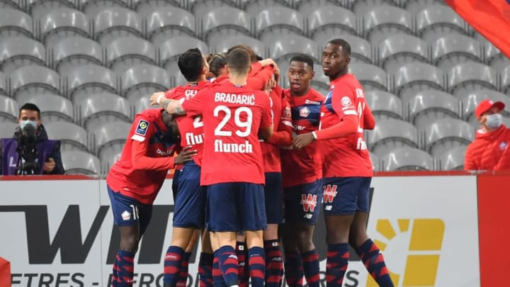 Lille have drawn their last two