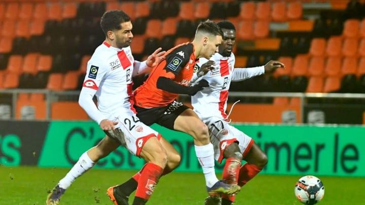 El Dijon es colista mientras que el Lorient está en puestos de play off de descenso