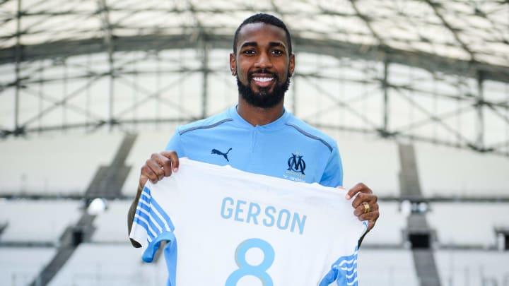 Gerson já fez gol pelo Marseille em amistoso de pré-temporada