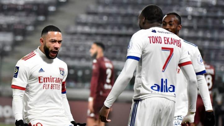 Les ailiers Lyonnais ont livré une bonne performance ce dimanche soir.