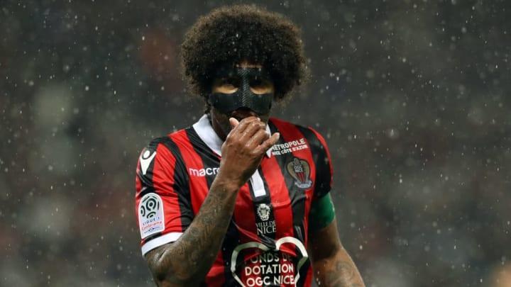 Dante, capitaine de Nice lorsqu'il joue.