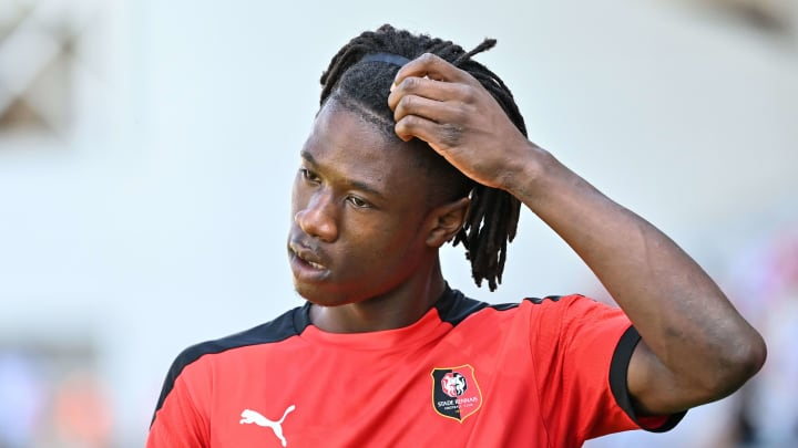Camavinga made his debut for Rennes at the age of 16