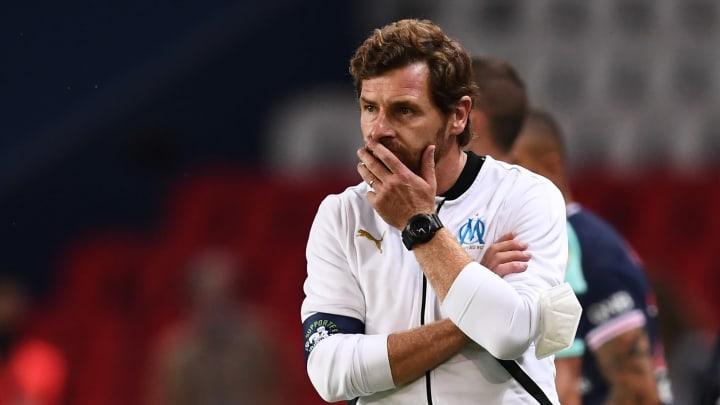 André Villas-Boas a mené son OM à la victoire contre le Paris Saint-Germain dimanche.