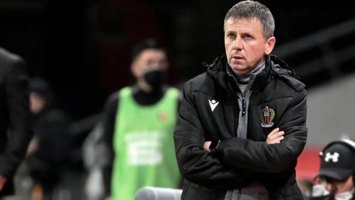 Adrian Ursea quittera son poste d'entraîneur de l'OGC Nice à la fin de la saison.