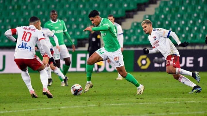Saint-Étienne Lyon Ligue 1 Goleada