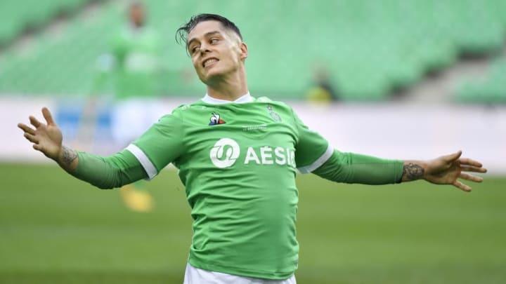 Romain Hamouma est l'atout offensif numéro 1 de Saint-Etienne.