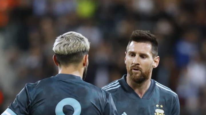 Messi, Agüero