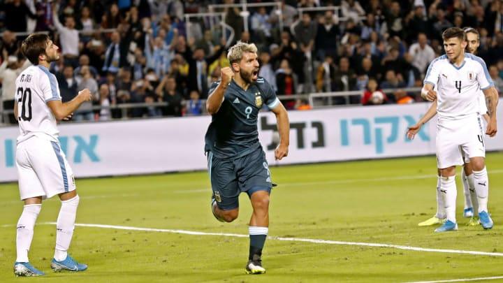 Argentina e Uruguai fizeram amistoso em 2019 em Tel Aviv