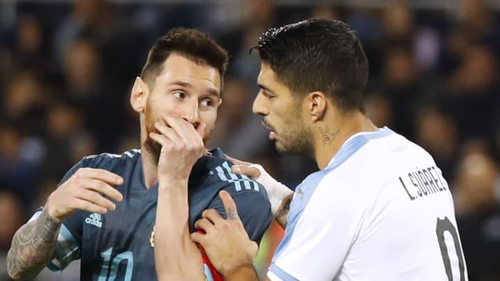 Messi y Suárez se enfrentan en la Copa América