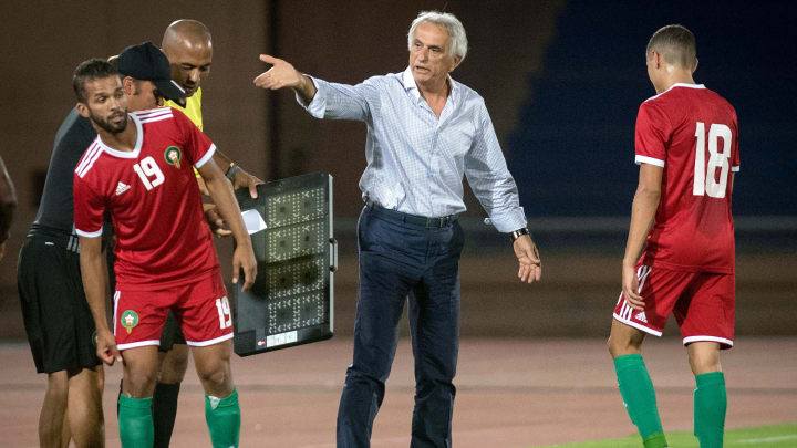 Morocco have been left stranded in Guinea