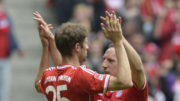 Müller, Ribery