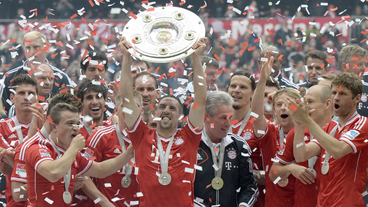 Bayern's 2012/13 success was the greatest of their eight consecutive titles