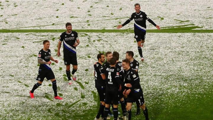 Arminia Bielefeld rang dem FC Bayern München ein Unentschieden ab.