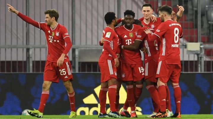 Bayern München ist weiterhin auf Titelkurs.