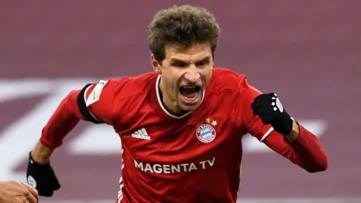 Thomas Müller enchaîne les réalisations avec le Bayern Munich.