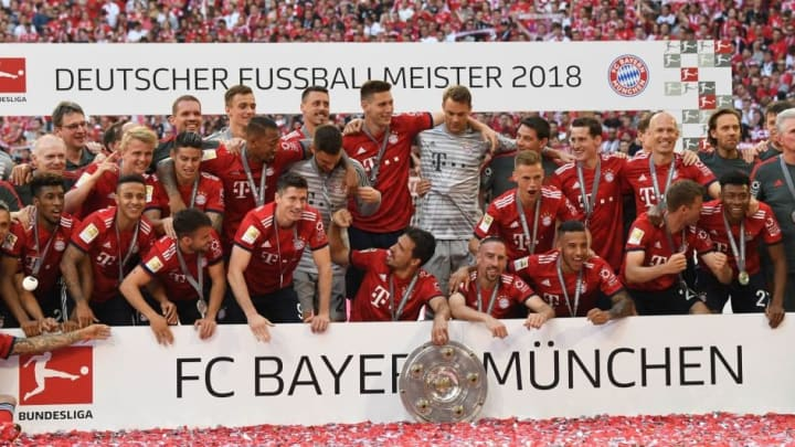 Bayern won the 2017/18 Bundesliga by a 21-point margin