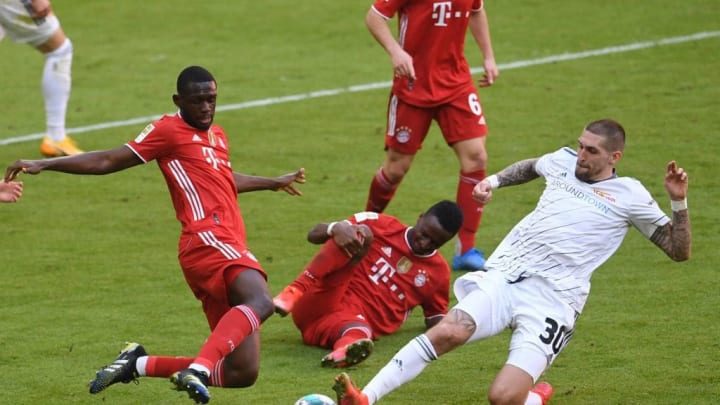 FBL-GER-BUNDESLIGA-BAYERN MUNICH-UNION BERLIN